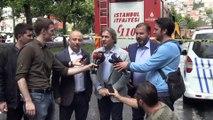 Beyoğlu'nda bina çökmesi - Beyoğlu Belediye Başkanı Demircan - İSTANBUL