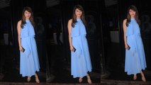 Urvashi Rautela looks Super Cute in her Maxi Dress at a Birthday Party | FilmiBeat