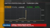 Turkey Defies Market Expectations for Rate Rise, Lira Plunges