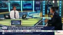 Les tendances sur les marchés: les secteurs cycliques souffrent en Bourse, dans un climat de tensions commerciales - 24/07