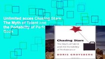 Unlimited acces Chasing Stars: The Myth of Talent and the Portability of Performance Book