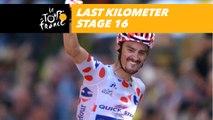 Last kilometer / Flamme rouge - Étape 16 / Stage 16 - Tour de France 2018