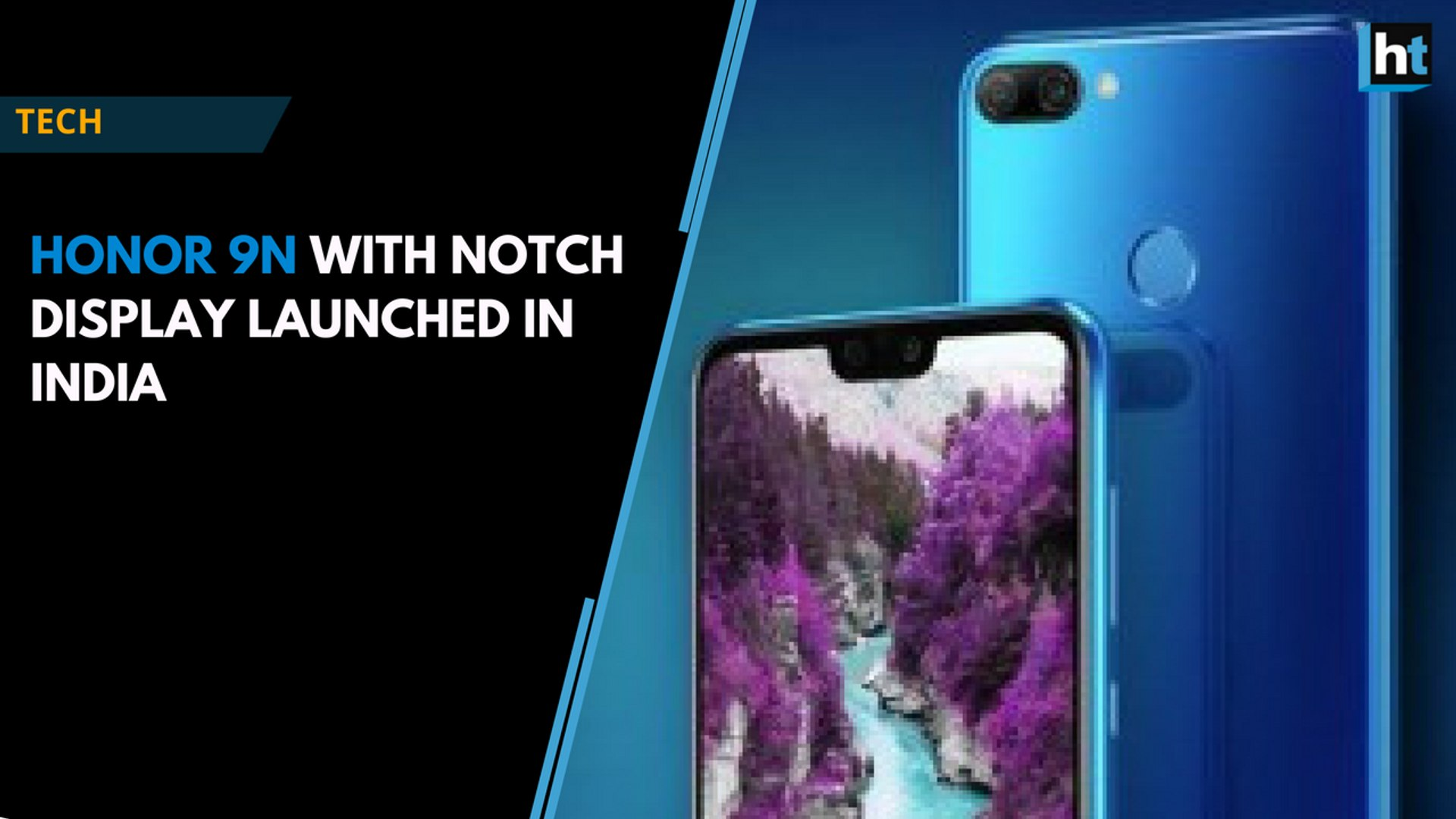 Honor 9N with notch display launched in India