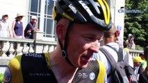"""Tour de France 2018 - Robert Gesink : """"Je me suis senti bien dans cette 1ère étape des Pyrénées"""""""