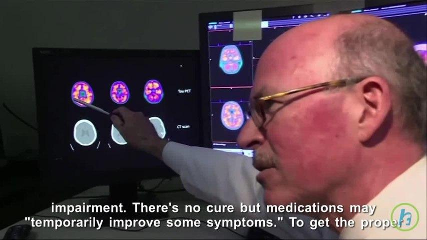 Dementia Diagnosis And Brain Scans