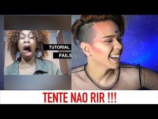 TENTE NAO RIR - TUTORIAIS QUE DERAM ERRADO!