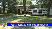 Man Accused of Fatally Shooting Wife, Then Injuring Himself in Suicide Attempt with Son in the House