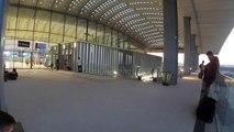 HERAULT - MONTPELLIER - Des trains vides pour une gare videLa gare nouvelle Montpellier Sud de France nous fait découvrir chaque jour depuis son entrée en service les limites même de ce grand projet inutile.  Des trains vides  La SNCF exploite chaque jour