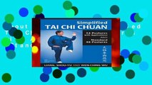 About For Books  Simplified Tai Chi Chuan: 24 Postures with Applications   Standard 48 Postures