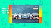 About For Books  Exploring Microsoft PowerPoint 2016: Exploring Microsoft PowerPoint 2016