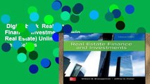 Digital book  Real Estate Finance   Investments (Irwin Real Estate) Unlimited acces Best Sellers