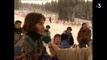 1995 - Premieres glisses du snowboard dans les Vosges