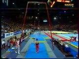 Marius TOBA (GER) rings - 1998 French internationals Qualifs
