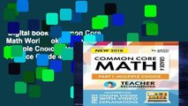Digital book  Common Core Math Workbook, Grade 4: Multiple Choice, Daily Math Practice Grade 4