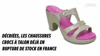 first look fast delivery preview of Pour ou contre la nouvelle Crocs à talon ? - Le Parisien