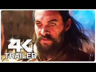 AQUAMAN Trailer (4K ULTRA HD) NEW 2018 FIRST LOOK MovieClips Official Trailers