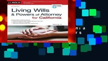 Best ebook  Living Wills and Powers of Attorney for California (Living Wills   Powers of Attorney