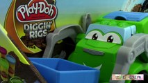 Play doh Super Camion Poubelle Pâte à modeler Play Doh Trash Tossin Rowdy The Garbage Tru