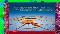 About For Books  Managerial Economics   Business Strategy (Mcgraw-hill Series Economics)  Review