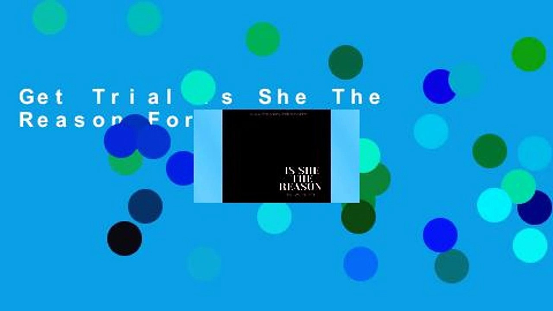 Get Trial Is She The Reason For Kindle