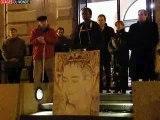 Saint-Brieuc soutient Ingrid Betancourt