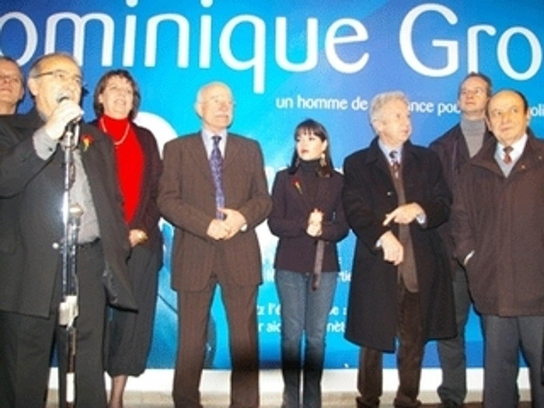 Jean-Pierre Masseret : Inauguration siège campagne PS