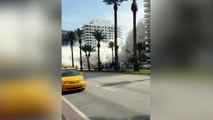 Todas las imágenes del colapso del edificio de Miami Beach