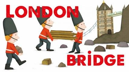 STEVE WARING - LONDON BRIDGE - comptine en anglais pour enfant