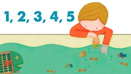 STEVE WARING - 1, 2, 3, 4, 5 - comptine en anglais pour enfant