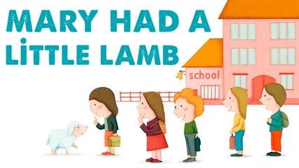 STEVE WARING - MARY HAD A LITTLE LAMB - comptine en anglais pour enfant