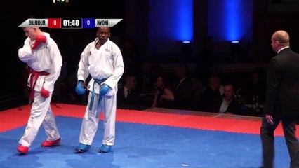 2018 | 10K Karate Clash | Group 1 | Round 1 | Johny Gilmour vs Ali Nyoni