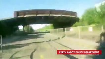 Watch Police Officer Run To Save Man From Approaching Train