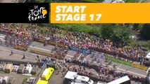 Départ / Start - Étape 17 / Stage 17 - Tour de France 2018
