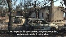 Grèce : Tragédie nationale après les incendies qui font des dizaines de morts et ravagent le pays