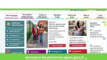 Spot de présentation du Portail pour les personnes âgées