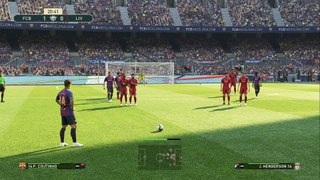 gameplay FC Barcelona vs Liverpool FC