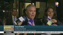 Colombia: Iván Duque pide garantías en proceso contra Álvaro Uribe