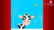 Ma petite vache ♫ Apprendre les chiffres en samusant - Comptines maternelles pour bébé en français