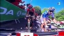 Tour de France : plus dure est la chute !