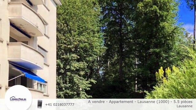 A vendre - Appartement - Lausanne (1000) - 5.5 pièces