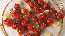 Grilled Strawberries >>> Fresh Strawberries
