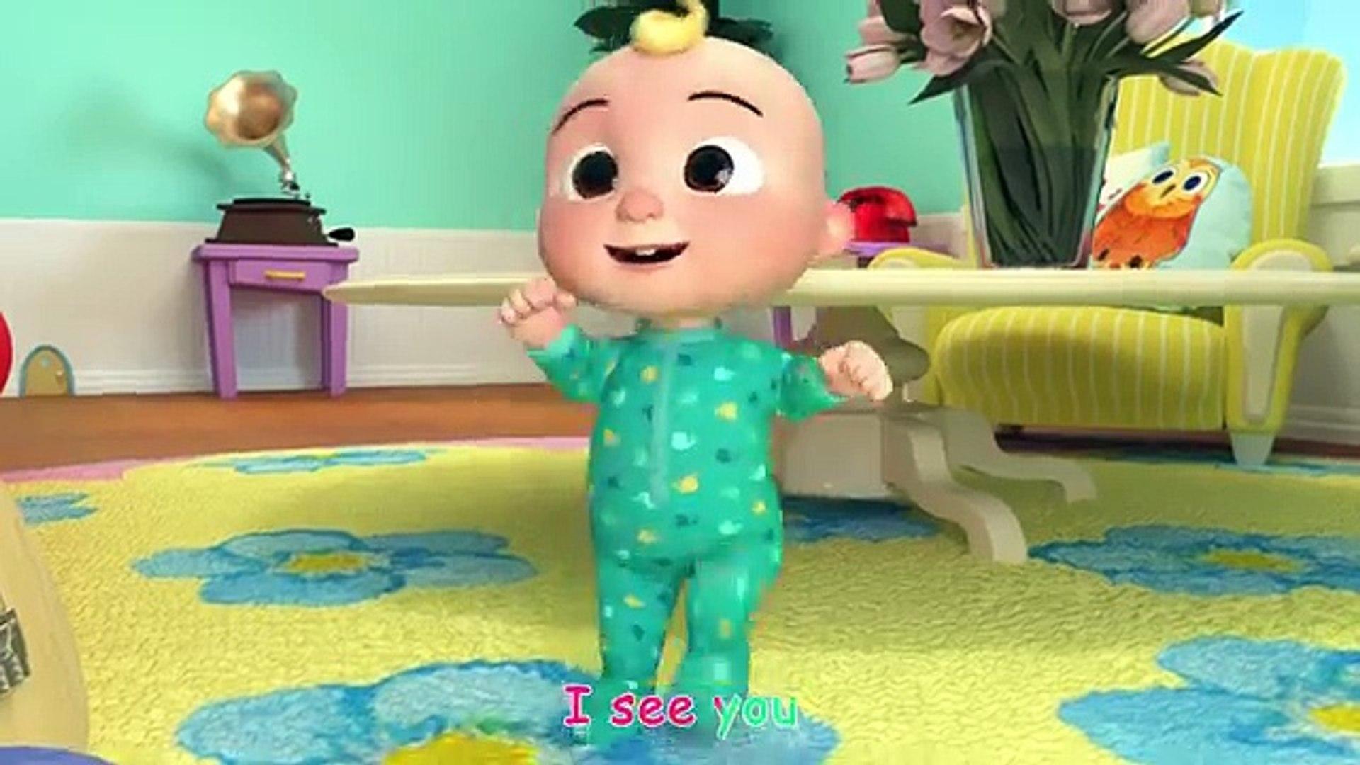 Peek A Boo Song More Nursery Rhymes Kids Songs Abckidtv Video Dailymotion