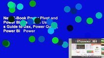 New E-Book Power Pivot and Power Bi  The Excel User s Guide to Dax, Power Query, Power Bi   Power