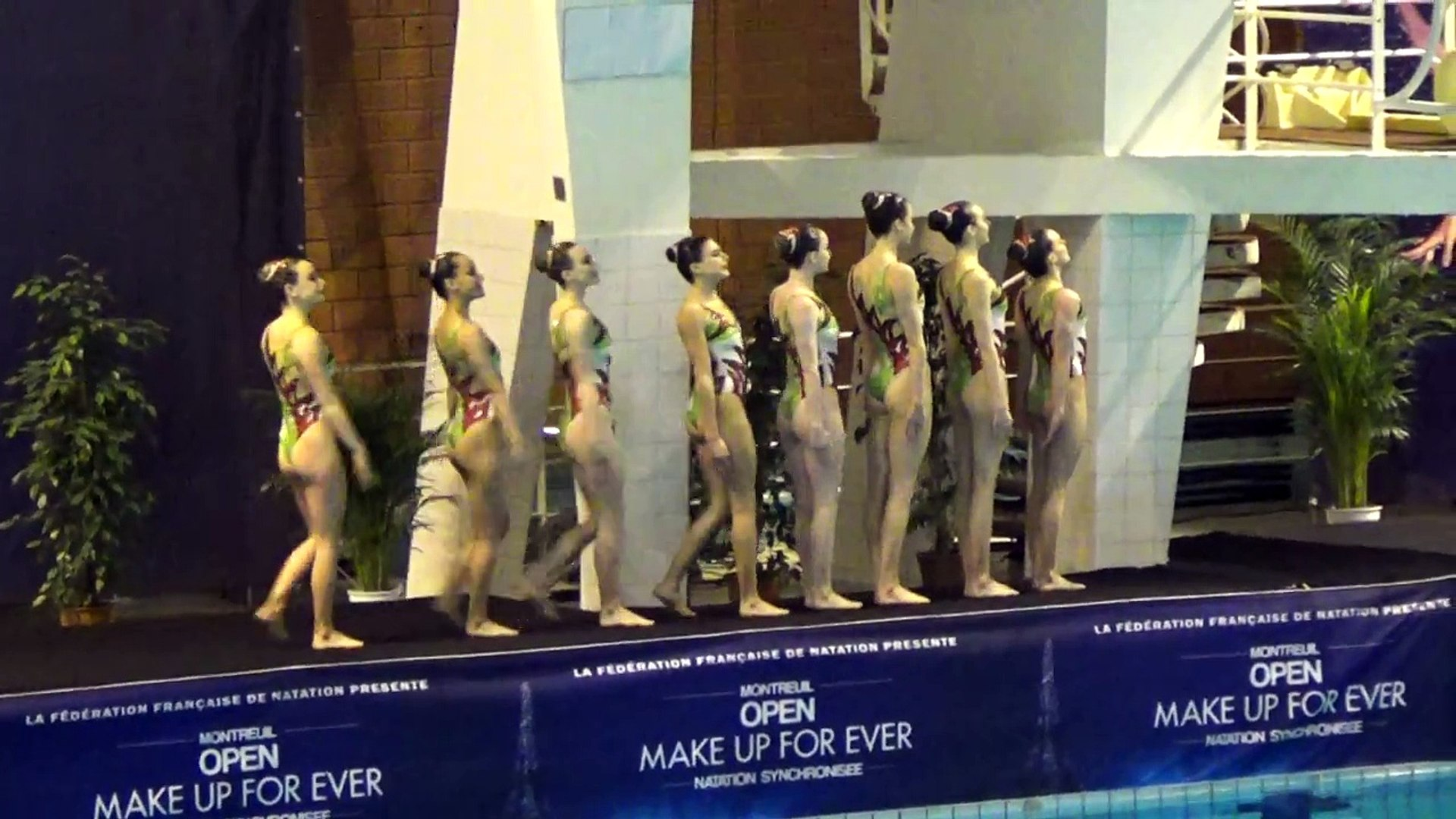 GREAT BRITAIN technical team - 2017 Open Make up for ever