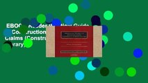EBOOK Reader Practical Guide to Construction Contract Surety Claims (Construction Law Library)