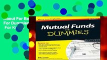 About For Books  Mutual Funds For Dummies (For Dummies Series)  For Kindle
