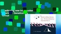 Readinging new Introduction to Veterinary Genetics any format