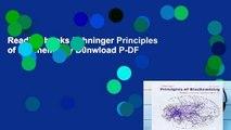 Reading books Lehninger Principles of Biochemistry D0nwload P-DF