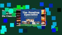 [book] New The Reading Specialist, Third Edition: Leadership for the Classroom, School, and