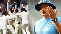 India Vs England: Ravi Shastri challenges England Team over pitch Controversy | वनइंडिया हिंदी